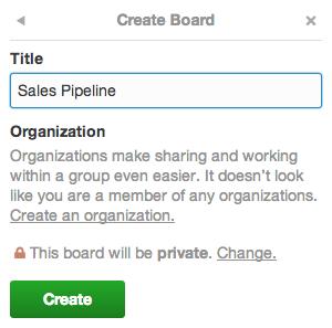 Create board.