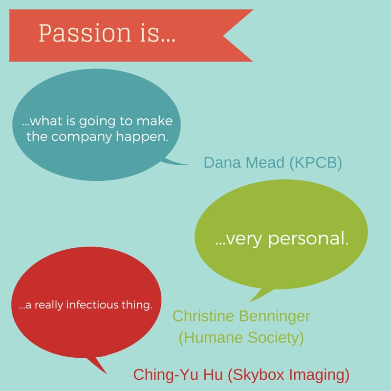 Passion is...